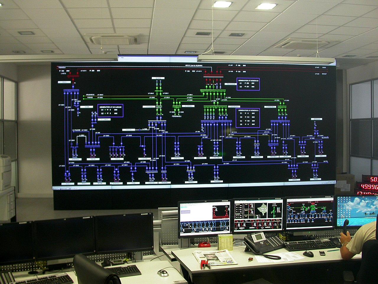 Dizajni dhe Instalimi i SCADA sistemit në KOSTT