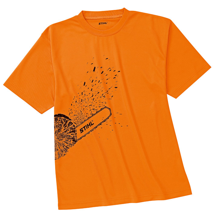 DYNAMIC Mag Cool T-shirt – orange