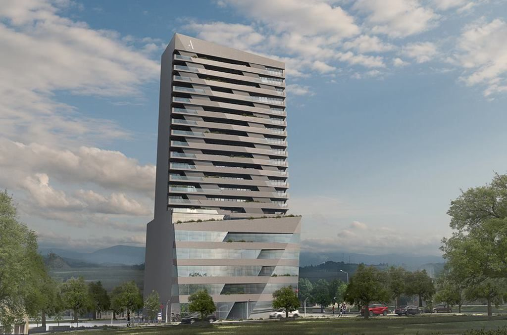 Electrical Design of ARTING Building in Prishtina