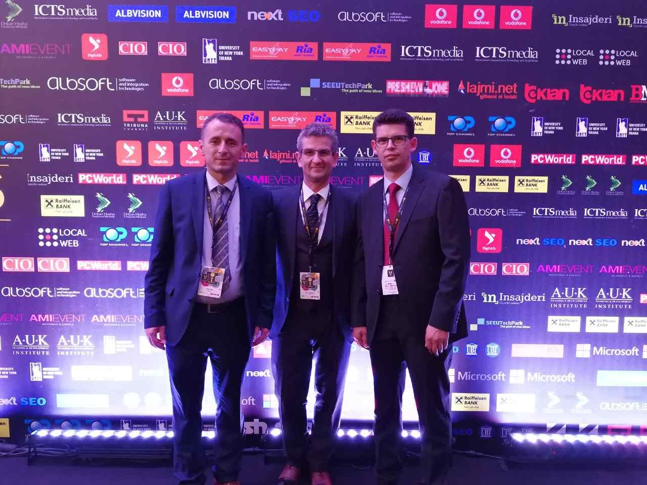 Barnatari fiton çmimin e shërbimit publik në ICT Awards