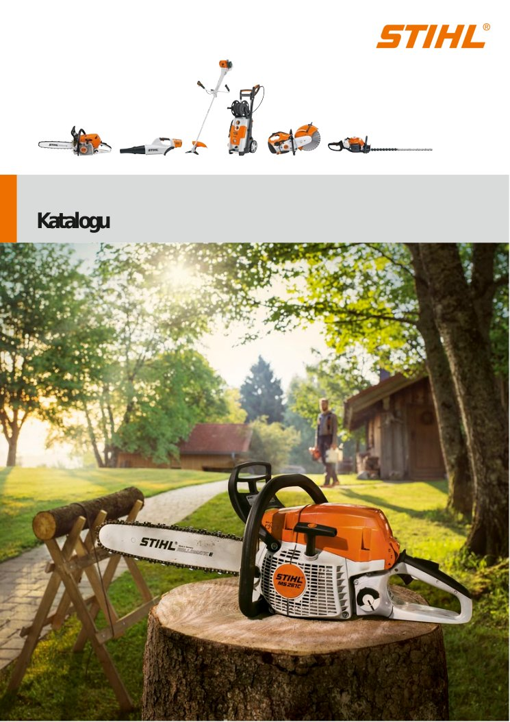 STIHL Products Catalogue
