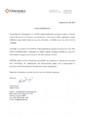 Official Gazette Document management System